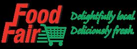 A theme logo of Food Fair Market